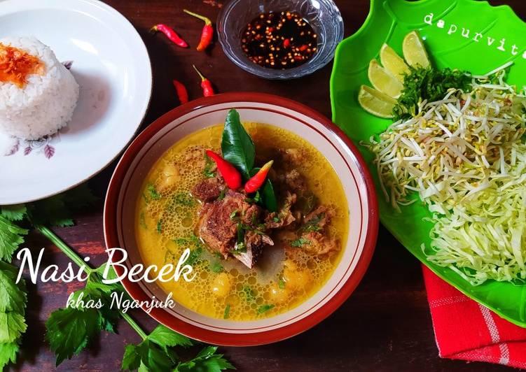 Resep: Nasi Becek khas Nganjuk lezat