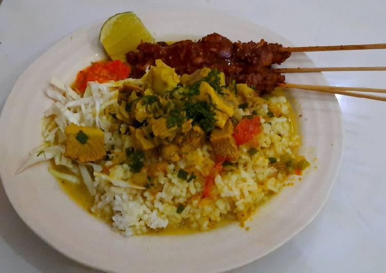 Resep: Nasi gule (nasi becek khas nganjuk)