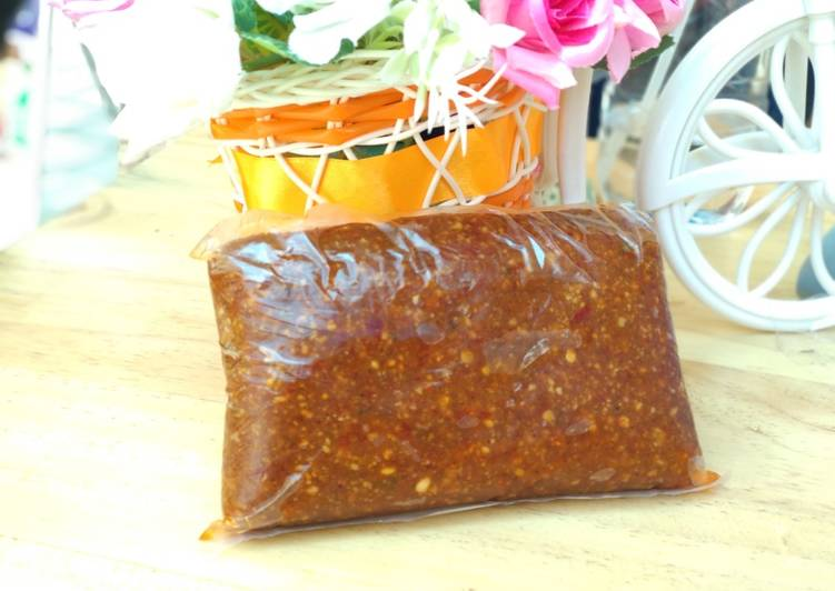 Resep: Sambel kacang Khas Nganjuk