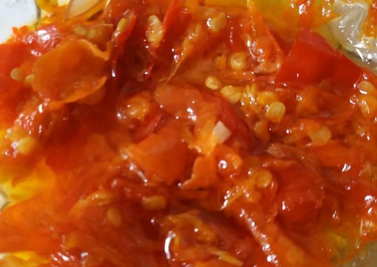 Resep membuat Sambel bawang istimewa (resep bude ngawi)