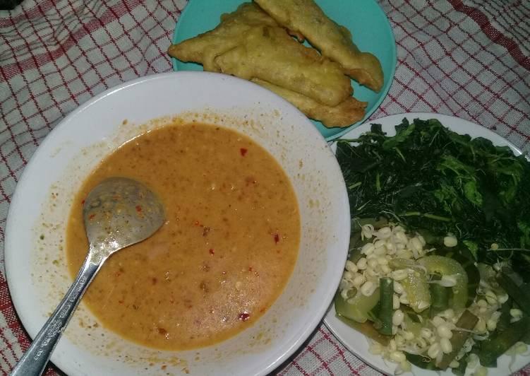 Cara membuat #4. Sambal Pecel Khas Ngawi lezat