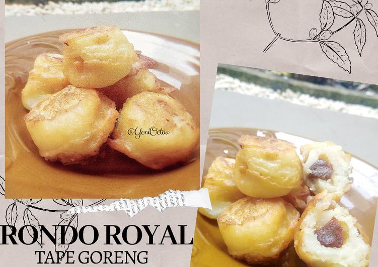 Cara memasak Tape Goreng (Rondo Royal) isi Kurma istimewa