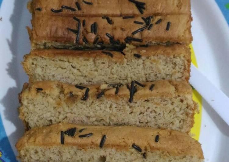 Resep memasak Cake tape 3 telor lezat