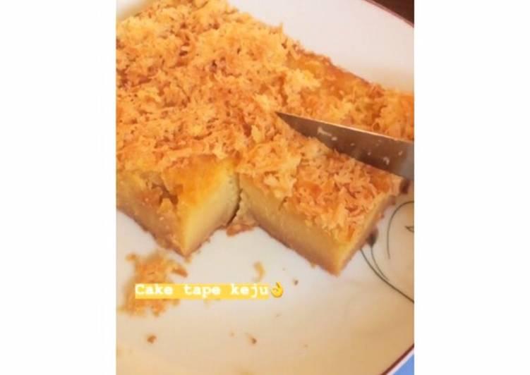 Resep: Cake tape keju