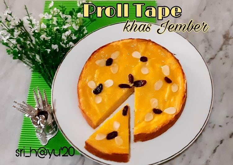 Resep: Proll Tape khas Jember (no mixer no oven)