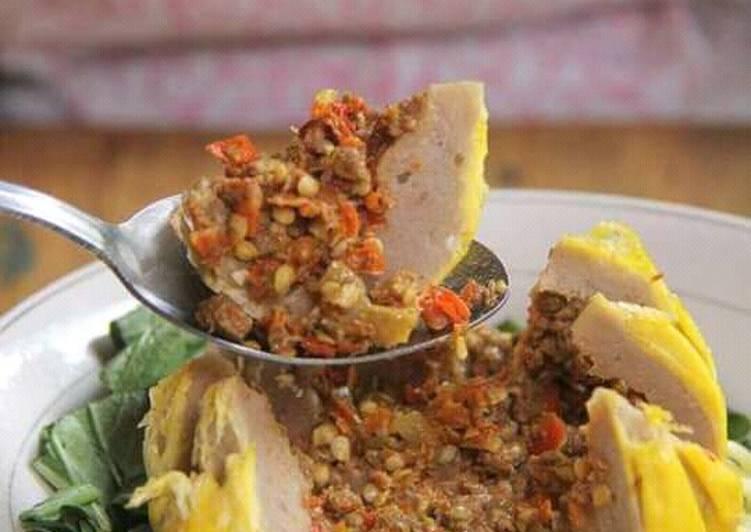 Resep: Bakso kabut khas JEMBER 😘😘 lezat