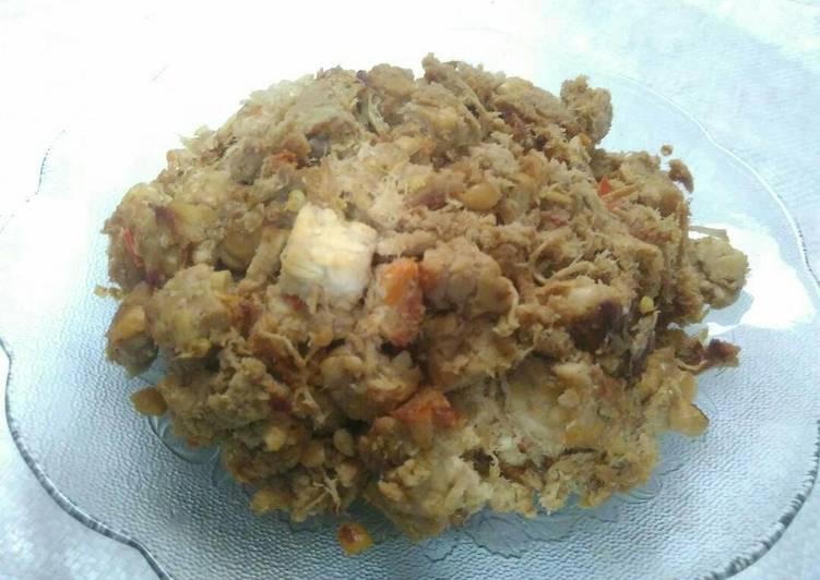 Cara membuat Suwar-suwir ayam pedas manis
