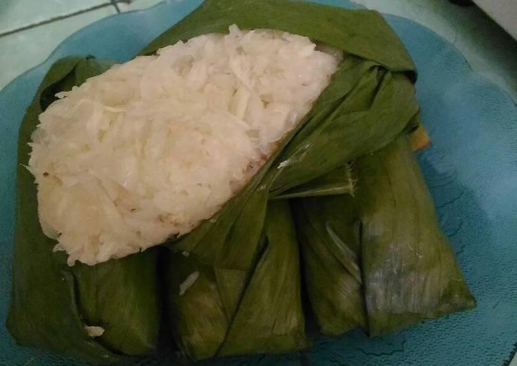Cara memasak Singkong rebus suwar suwir