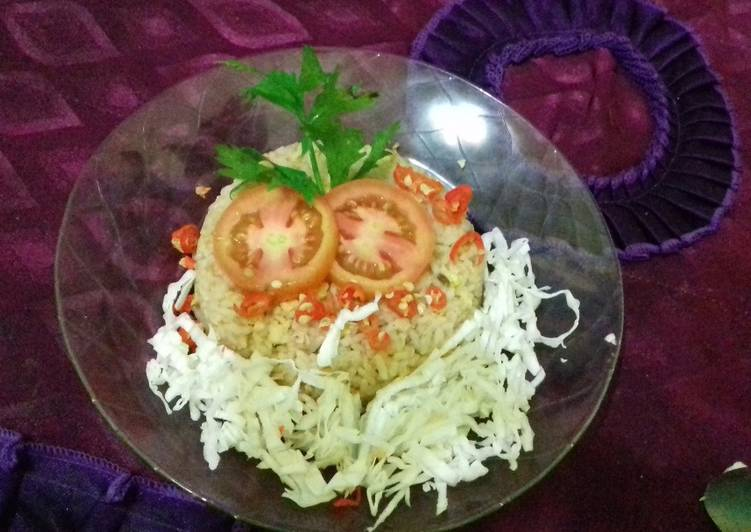 Cara Mudah membuat Nasi goreng Bojonegoro lezat