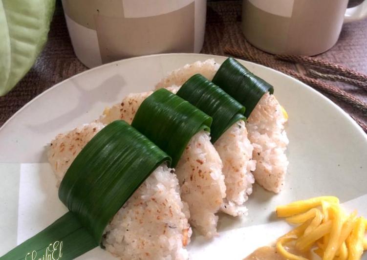 Cara memasak Ledre Ketan Cocol Kinca Nangka istimewa
