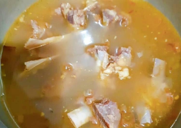 Resep: Sop kambing madura seperti di warung sate 😀