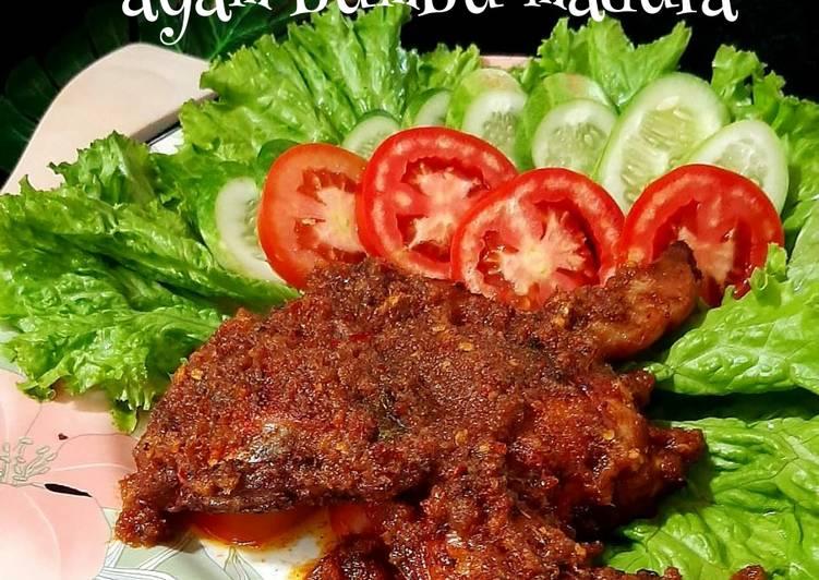 Resep: Ayam bumbu madura