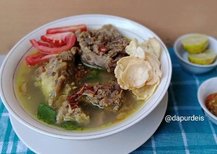 Resep memasak Sop Kambing Bening Madura istimewa