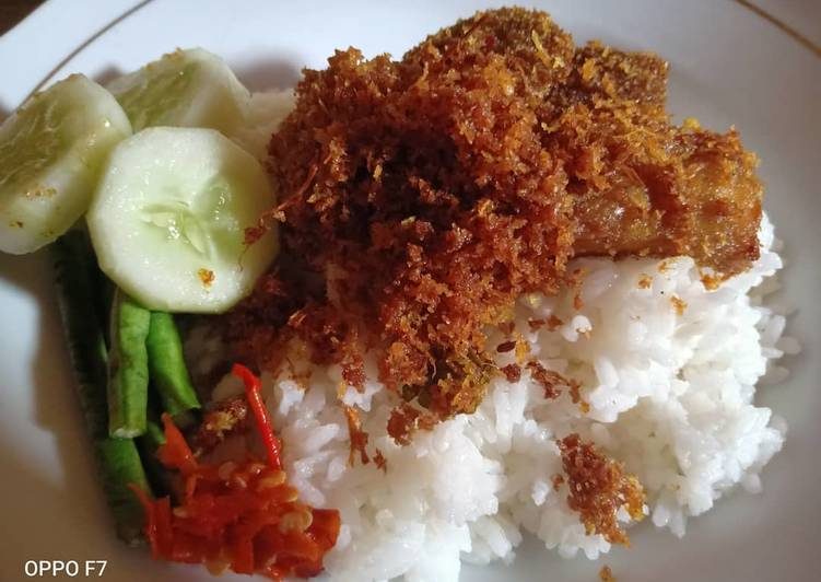 Resep memasak Nasi Babat Serundeng Kelapa khas Madura