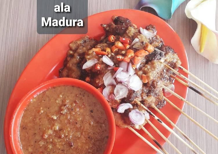 Resep: Sate ala Madura (Sate Ayam) enak