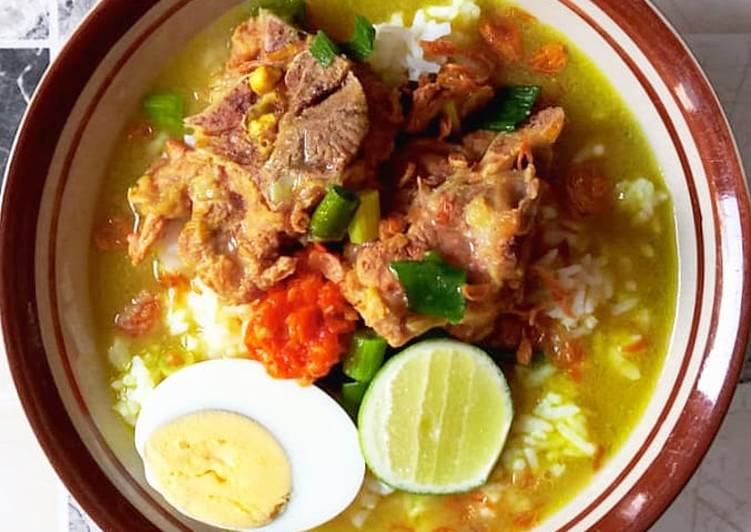 Resep: Soto daging Madura