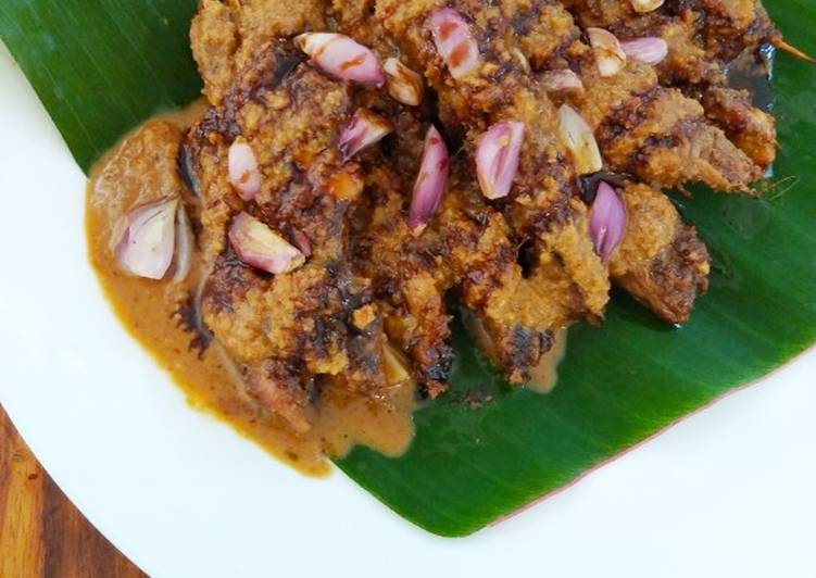 Cara membuat Sate ayam Madura lezat