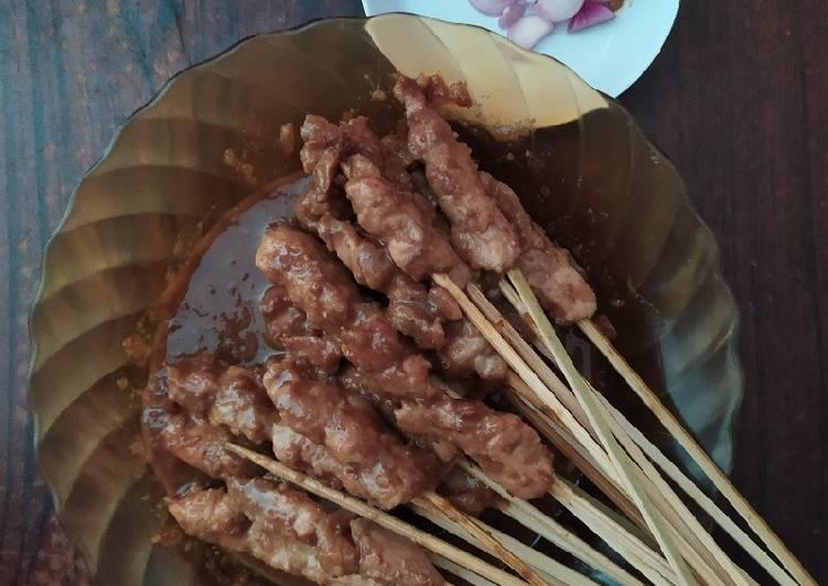 Resep: Sate ayam madura (bumbu kacang)