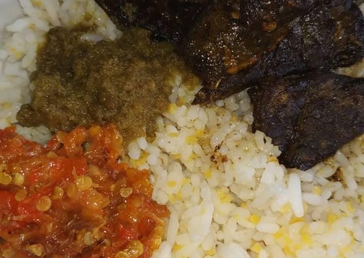 Cara mengolah Nasi paru khas madura lezat