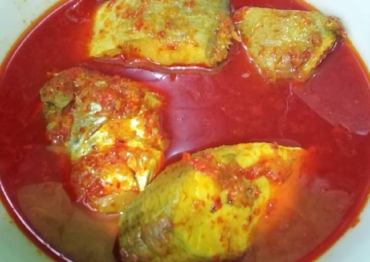 Resep: Gulai asam pedas ikan senangen enak