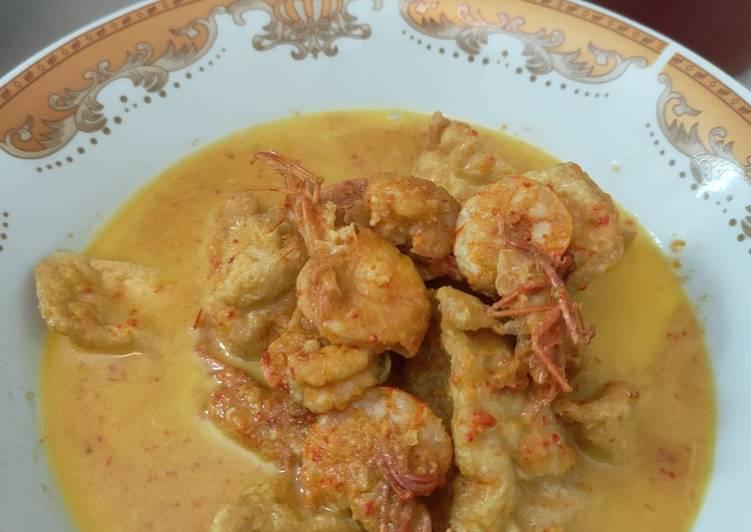Resep: Gulai Tahu & Udang enak