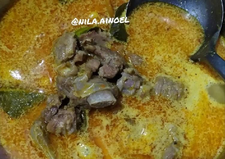 Resep: Gulai kambing