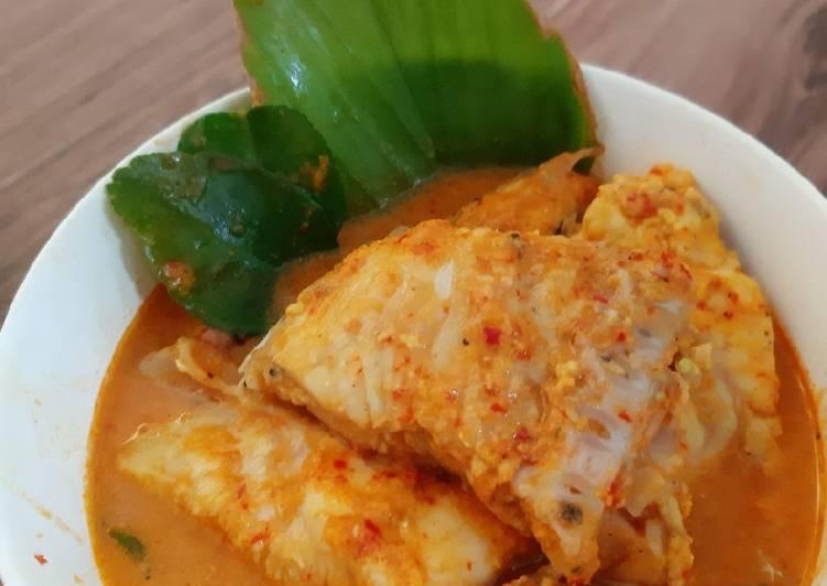 Resep mengolah Gulai Ikan Padang Diet tanpa santan (170 kkal/porsi) lezat