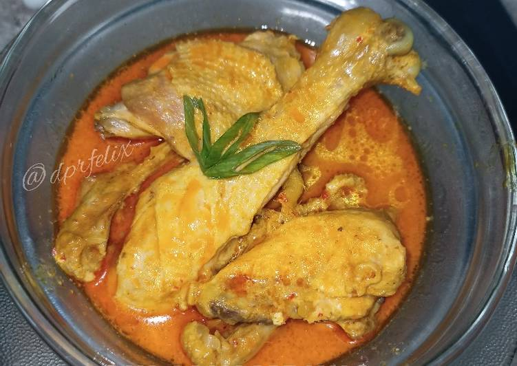 Resep: Gulai ayam kampung 🐔 lezat