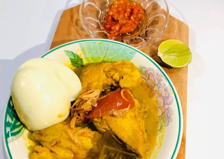 Cara Mudah membuat 43🍒 Gulai ayam 🍗 fiber creme 🤫 ricecooker enak