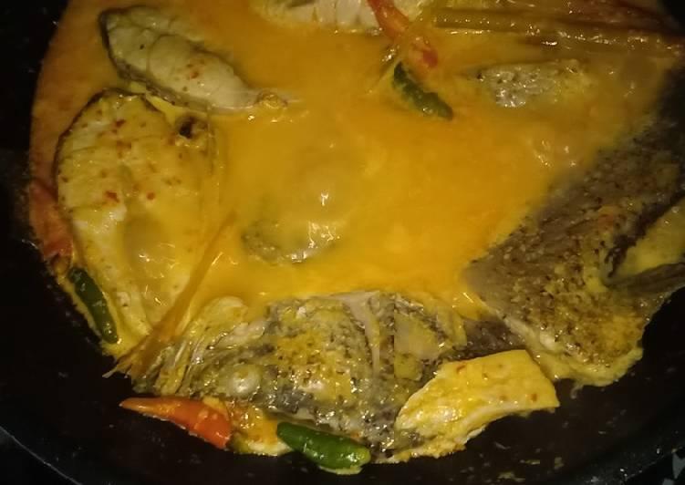 Cara Mudah memasak Gulai ikan kakap istimewa
