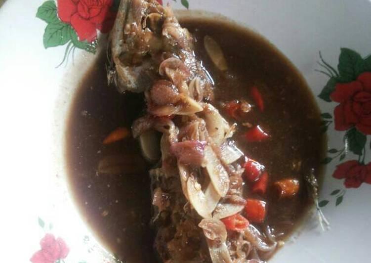 Cara membuat Ikan peda asem pedes enak