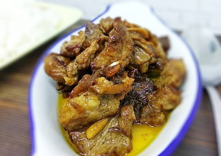 Resep: Daging masak Gangsa Madura