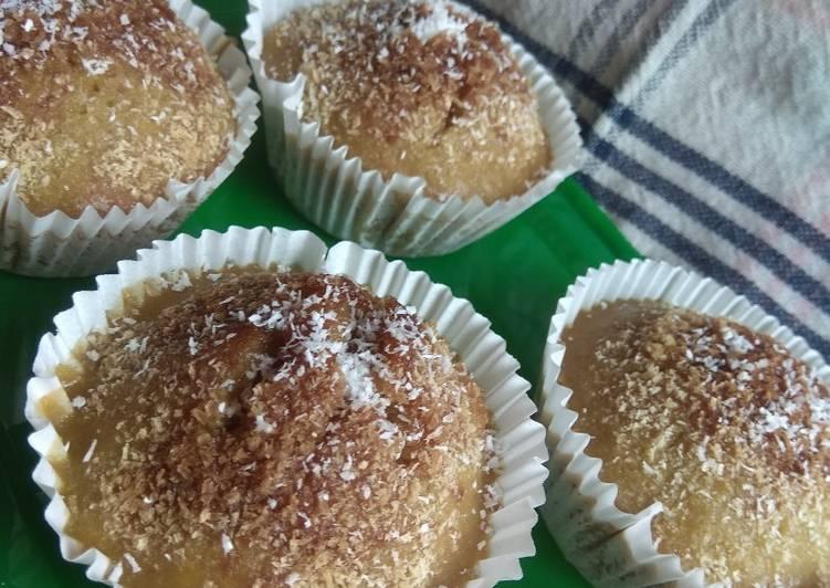 Resep memasak Bolu kukus klepon tanpa telur