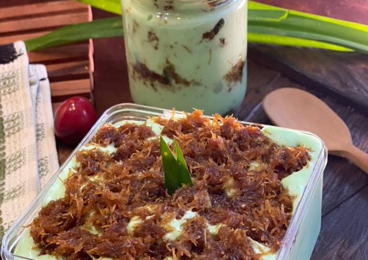 Cara Mudah membuat Klepon Cake Dessert Box ala Tiger Kitchen lezat