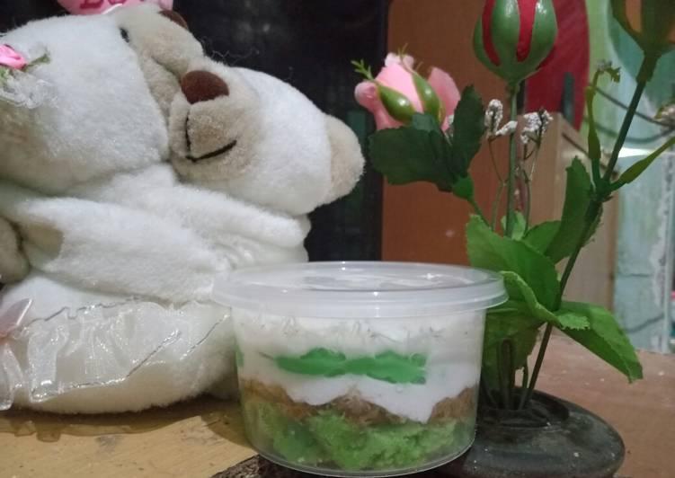 Resep: Klepon cake dessert lezat