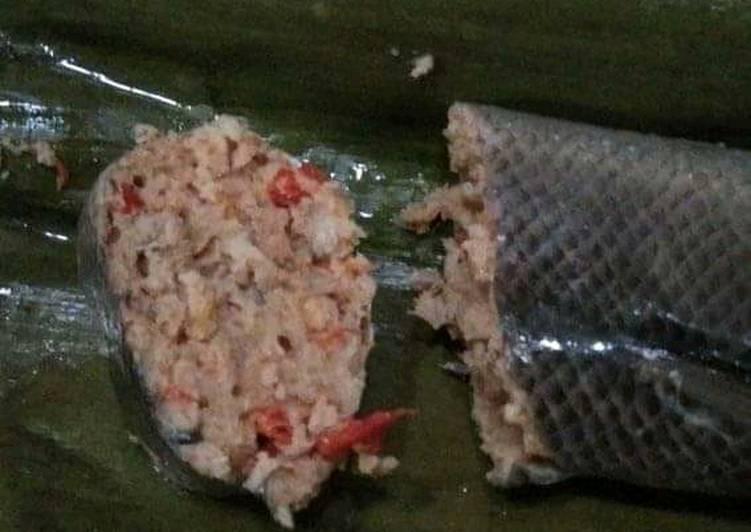 Resep: Sate bandeng (pepes bandeng tanpa duri) lezat