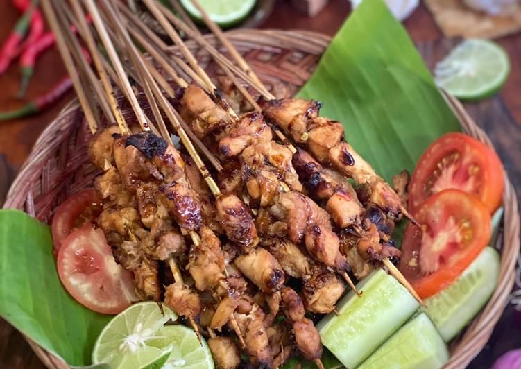 Resep: Sate Ayam ala Tiger Kitchen