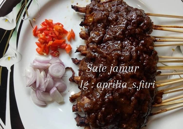 Resep: Sate jamur lezat