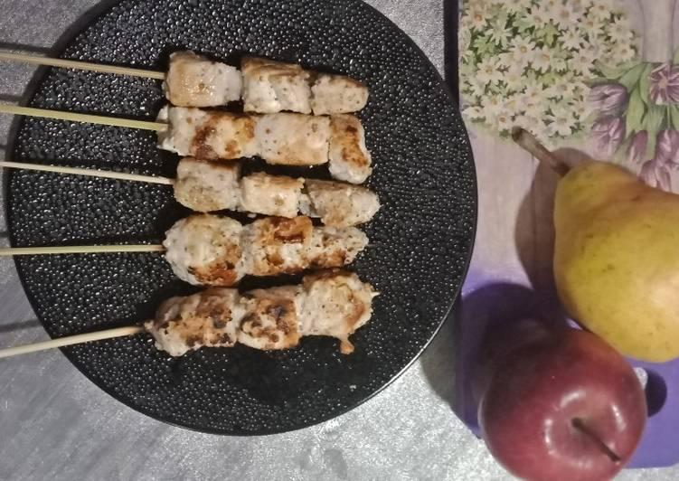 Resep: #Diet Sate Tuna No Minyak, Santan & Tepung