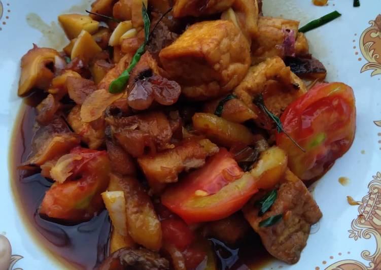 Resep: 🥳Kulit kerbau bumbu🤓 sate lezat