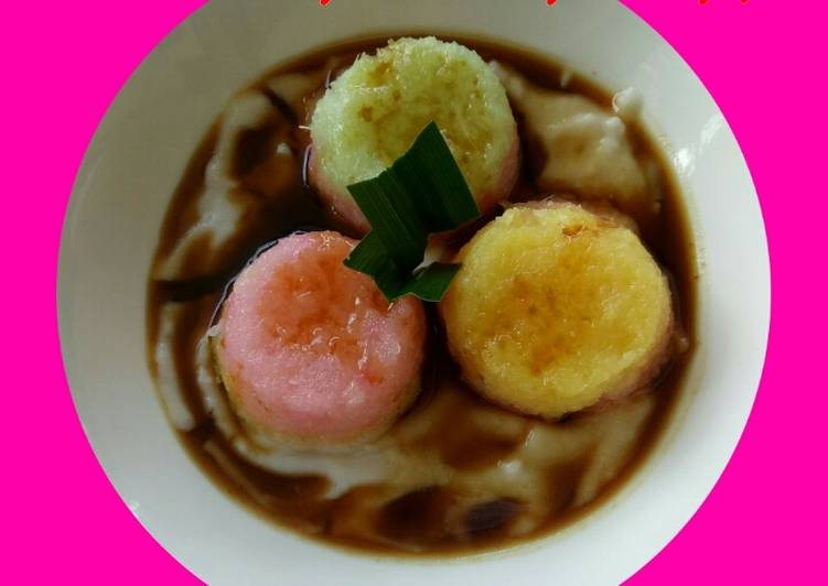 Cara memasak Kue bongko singkong jelita