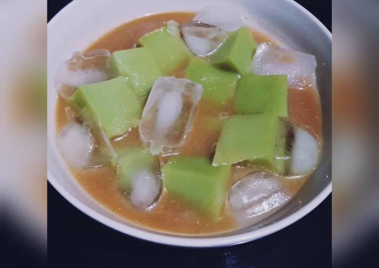 Resep: Es bongko (pontianak)