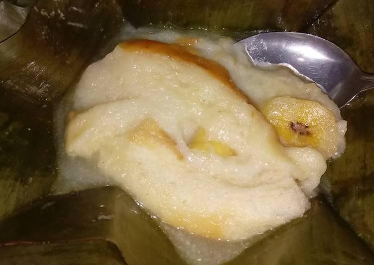 Resep: Bongko roti banana