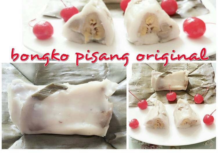 Cara memasak bongko pisang original lezat