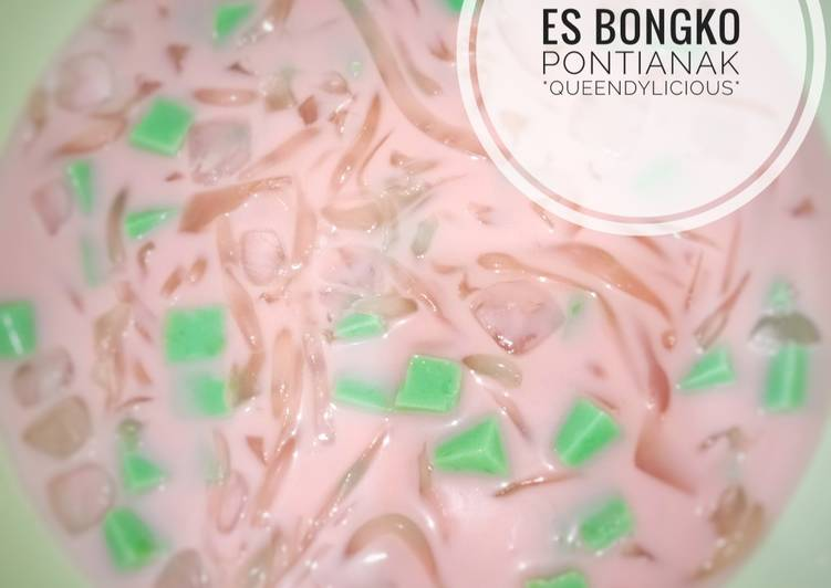 Cara Mudah memasak Es Bongko Pontianak
