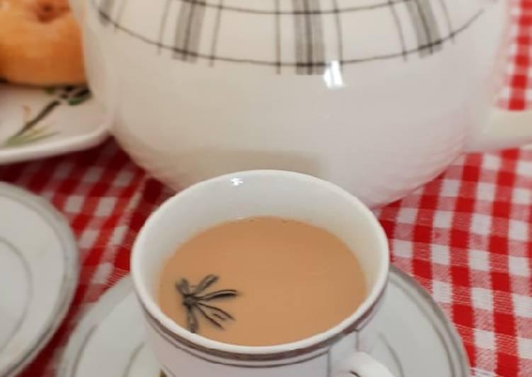 Cara memasak Karak tea
