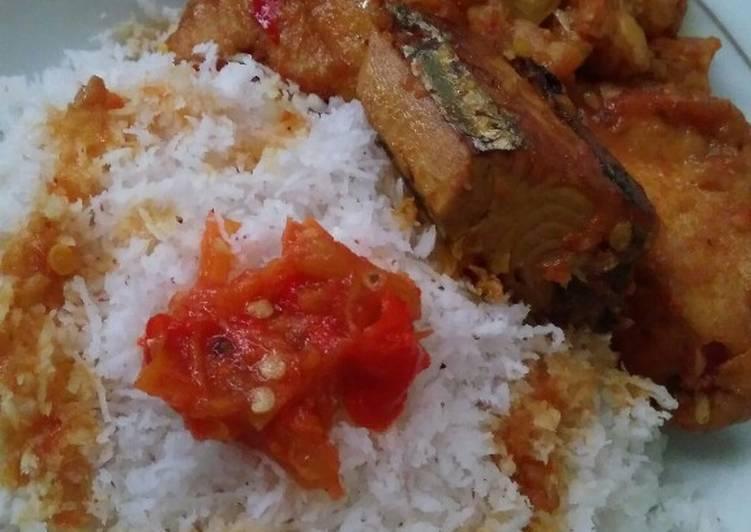 Resep mengolah Nasi Karak khas Situbondo istimewa