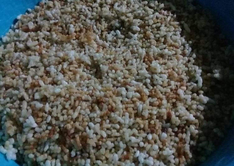 Resep membuat Karak nasi enak