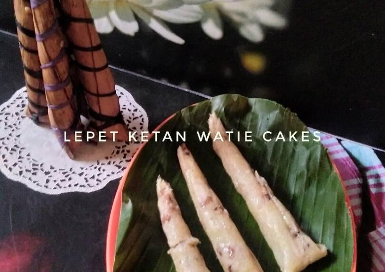 Resep: Lepet ketan,kue tradisional