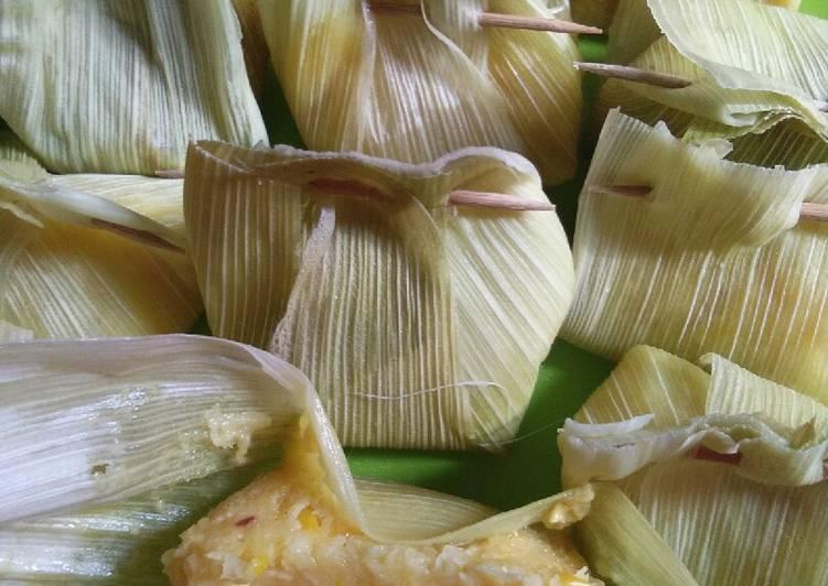 Resep mengolah Lepet jagung by rhubhie istimewa